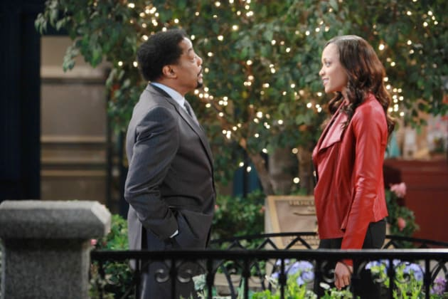 Abe and Lani - Days of Our Lives