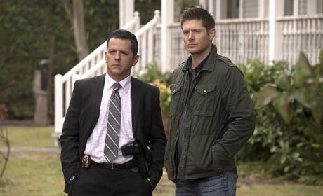 Dean and the cop - Supernatural Season 11 Episode 5