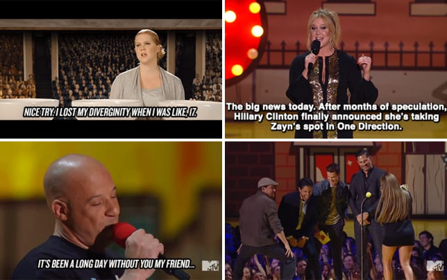 13 unforgettable mtv movie awards moments losing her divergnity