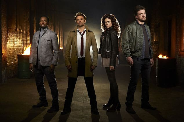 The Cast of Constantine Season 1 Episode 1