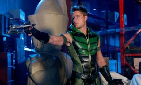 As The Green Arrow