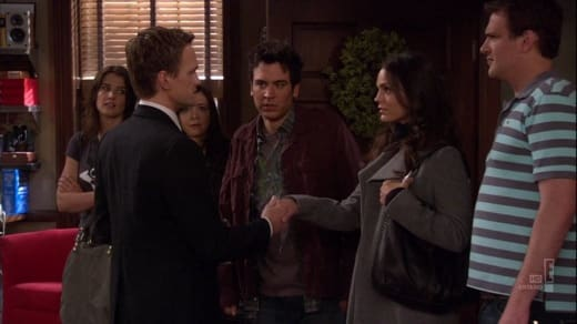 Barney Meets Ted's Sister