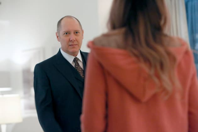 Red found his red hoodie - The Blacklist Season 4 Episode 10