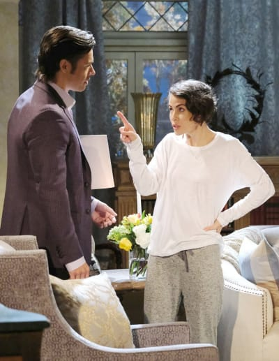 Philip vs Xander Round 2 - Days of Our Lives