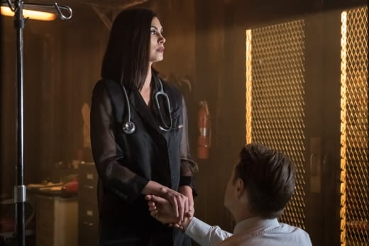 Jim and Lee Again - Gotham Season 4 Episode 21