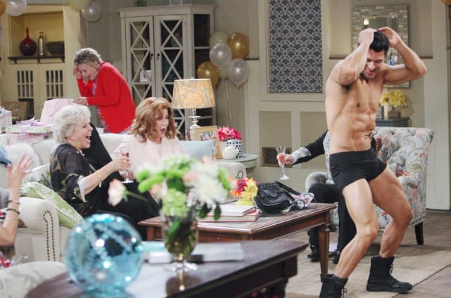 Hope's Bachelorette Party - Days of Our Lives