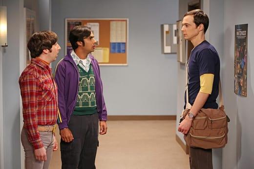 Following Sheldon