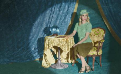 Emma Roberts as Maggie Esmerelda - American Horror Story