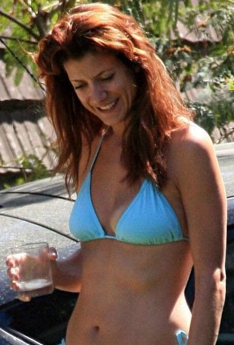 Kate Lounges Poolside