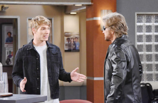 Steve Tells Tripp About His Mother - Days of Our Lives