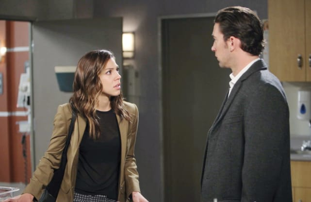 Chad Gets Shocking News - Days of Our Lives