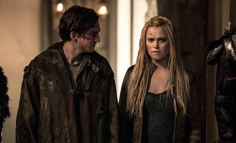 "At Lexa's ""Funeral"" - The 100 Season 3 Episode 9"
