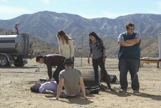 Man Down - Scorpion Season 3 Episode 12