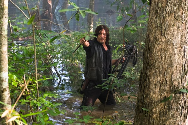 Swamp Thing - The Walking Dead Season 8 Episode 11