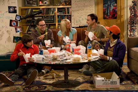 Penny and The Gang Eat