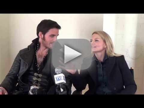 Colin odonoghue and jennifer morrison set interview