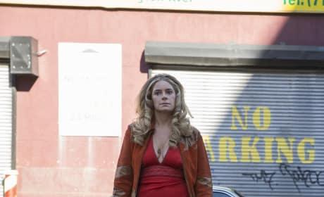 Jamie Neumann on The Deuce Vertical Season 1 Episode 7