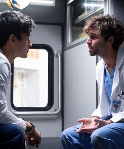 Coming Out - Tall - Grey's Anatomy Season 15 Episode 8