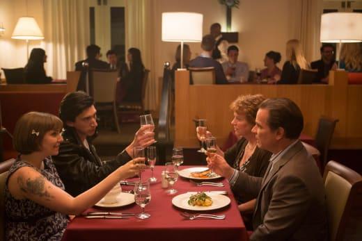 Hannah's Goodbye Dinner - Girls Season 4 Episode 1