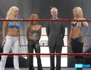 Fashion Meets Wrestling