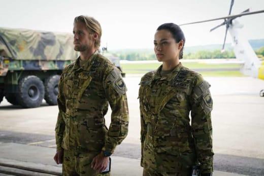 Leland and Nora - Valor Season 1 Episode 2