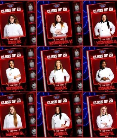 Red Team - Hell's Kitchen Season 20 Episode 1