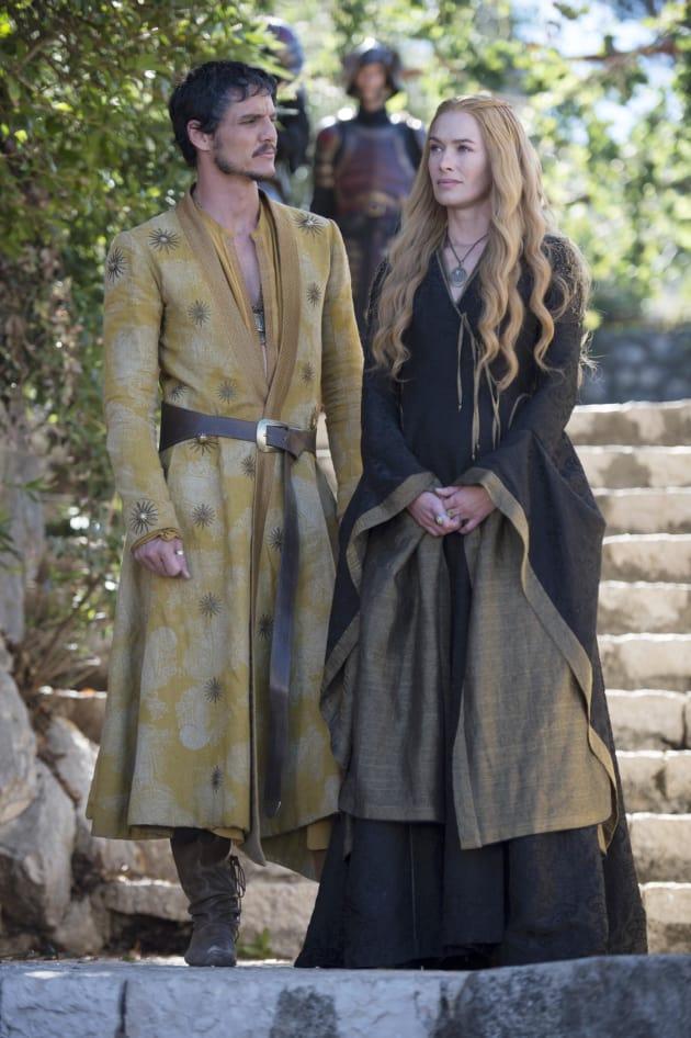 Cersei and Prince Oberyn