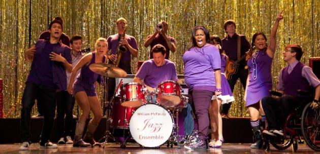 Clad in Purple