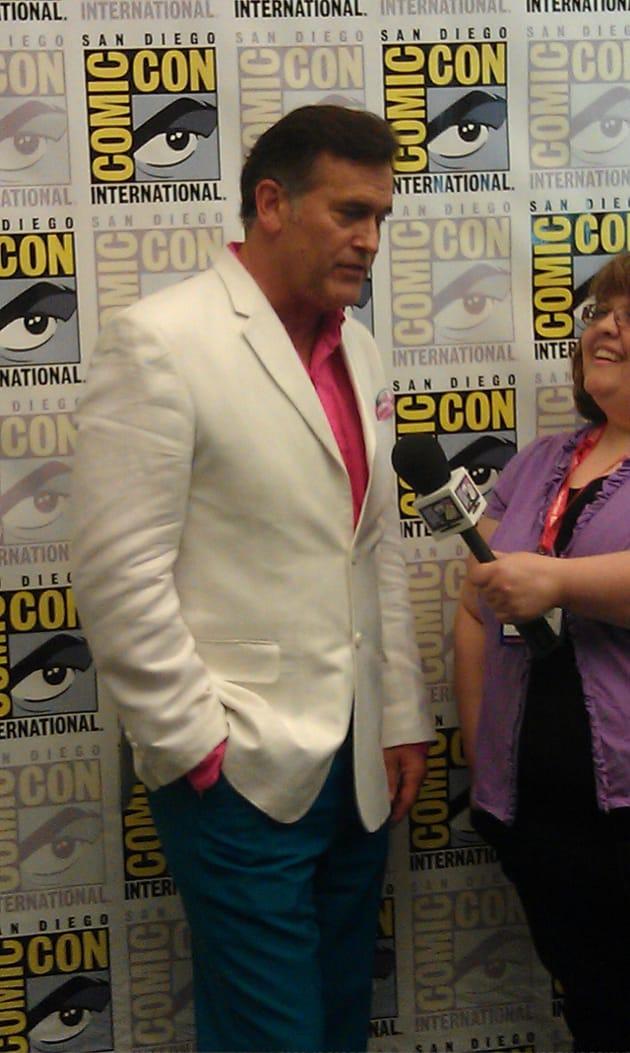 Bruce Campbell Comic Con