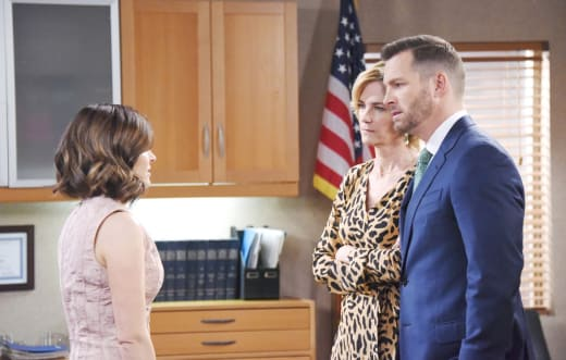 Fighting Over Tate - Days of Our Lives