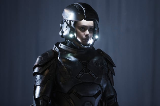 Martian Marine Bobbie Draper - The Expanse Season 2 Episode 6