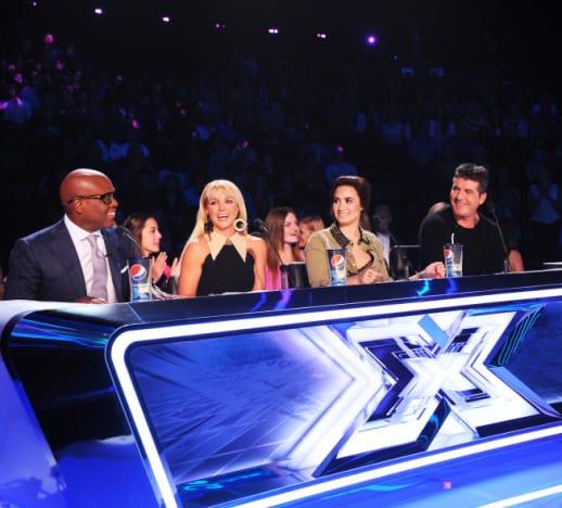 The X Factor Judges Debating