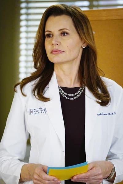 Geena Davis as Herman - Grey's Anatomy Season 11 Episode 13
