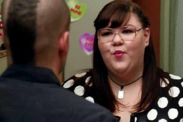 Ashley Fink on Glee