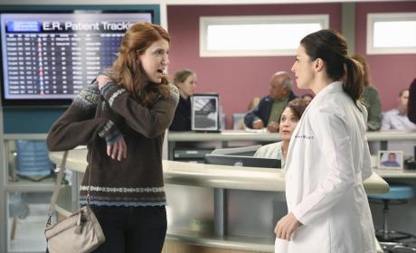 Angry at Amelia - Grey's Anatomy Season 11 Episode 7