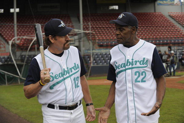 Wade Boggs and Danny Glover on Psych