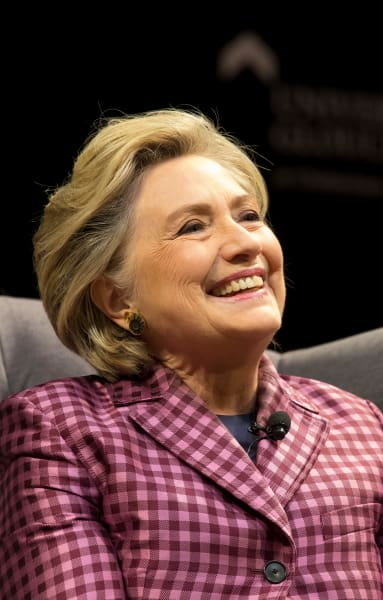 Hillary Clinton Smiles