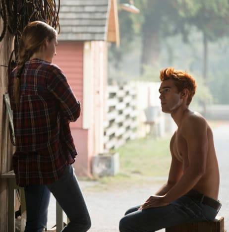 Shirtless Archie (Again) - Riverdale Season 3 Episode 7