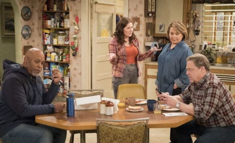 Family Time - Roseanne Season 10 Episode 9