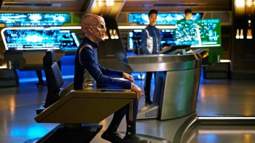 Captain Saru - Star Trek: Discovery Season 1 Episode 14