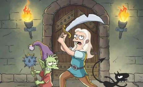 Disenchantment Renewed for Season 2 at Netflix!