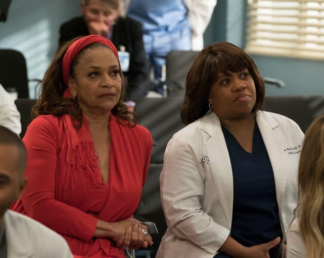 Secretive Catherine - Grey's Anatomy Season 14 Episode 20
