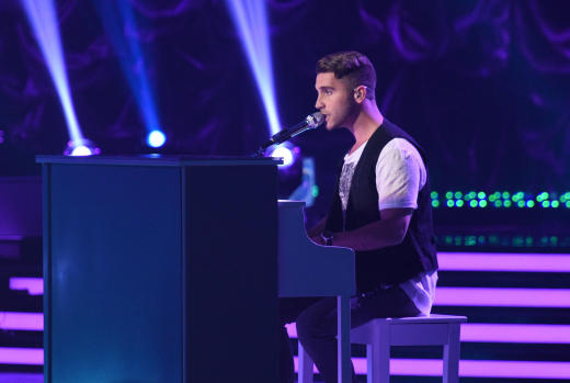 Nick at the Piano - American Idol