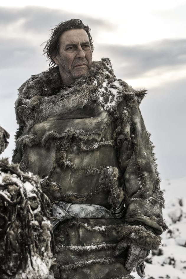 Ciaran Hinds as Mance Rayder