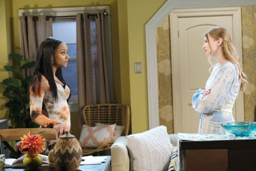 Chanel Confesses Her Feelings - Days of Our Lives