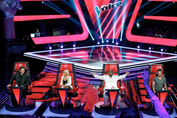The Voice Blind Auditions Photo