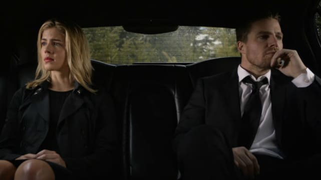Arrow - Oliver and Felicity