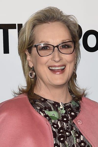 Meryl Streep Smiles