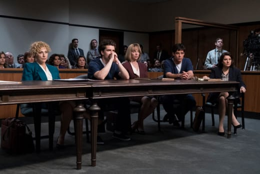 Lyle and Erik in Court - Law & Order True Crime: The Menendez Brothers Season 1 Episode 3