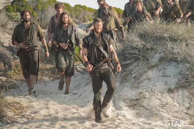 Bones and the Resistance - Black Sails Season 4 Episode 5